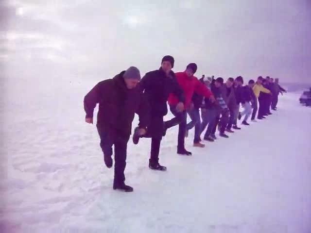 25.01.2012 elmadağ seğmen çalışmaları ve mangal partisi...