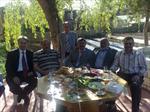 Sayın TCDD Gen. Md. Süleyman KARAMAN ve misafirleri köyümüzde...