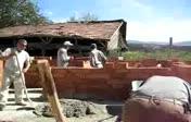 ARAK KÖYÜ İMECE (Hoca evi yapımı)...