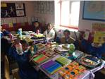 Aşağı Canbaz İlkokulu Öğrencileri Hediyelerine Kavuştu.