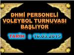 2015 DHMİ Personel Voleybol Turnuvası