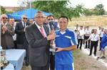 2013 Futbol Turnuvası Kupa Töreni