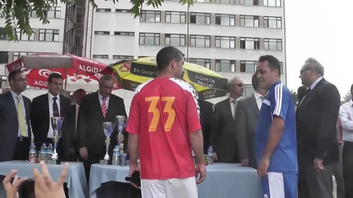 2013 Futbol Turnuvası Kupa Töreni...