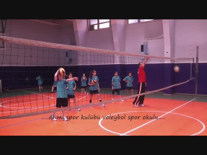 Şubat 2013 Dhmi Voleybol Spor Okulu Çalışması...