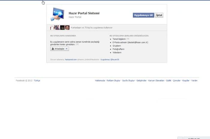Facebook entegrasyonu nasıl yapılır