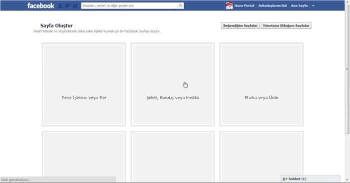 Kurumsal Facebook Sayfası Nasıl Oluşturulur