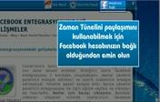 Facebook zaman tüneli paylaşımları open graph...
