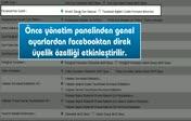 Facebooktan siteye nasıl direkt üye olunur...