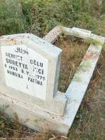 Mehmet oğlu Süreyya İnci mezarı