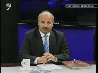 Genel Başkanımız Kanal 9 da Türkiyenin Sesi nde...