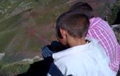 kura nehri ve köyümüzün çocukları :)...