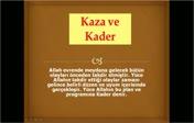 Din Kültürü Kaza Kader 1...