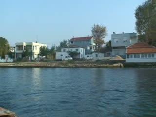 Harmanlı Köyü Tekneden Görüntü...